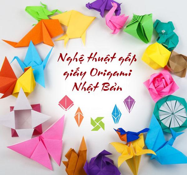 ách gấp giấy origami trái tim, con vật, hoa hồng. Cách gấp giấy đơn giản nhất