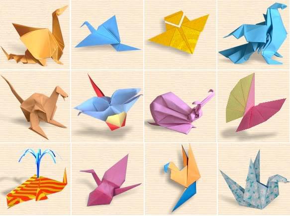 Cách gấp giấy origami trái tim, con vật, hoa hồng. Cách gấp giấy đơn giản nhất