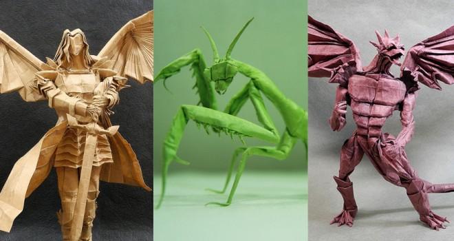 Ngày nay, người ta làm Origami rất sáng tạo kiểu loại, mẫu mã, màu sắc