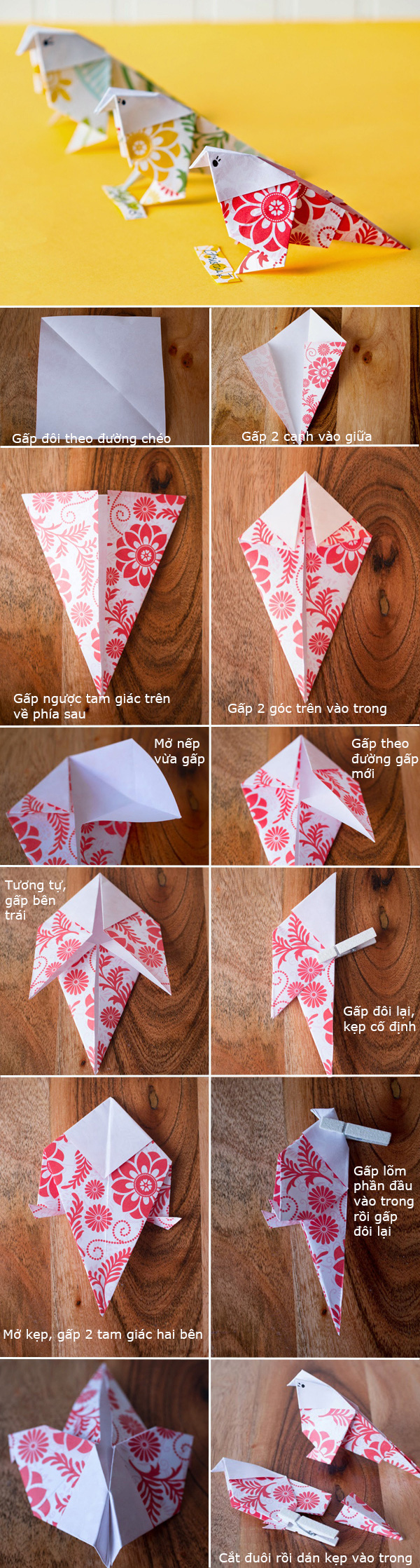gap giay nhat ban origami