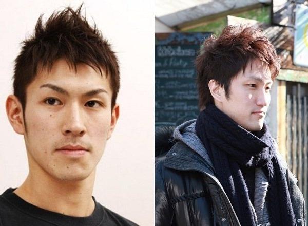 Kiểu tóc mái spiky layer được các sao nam thể thao Nhật ưu thích.