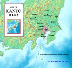 Bản đồ vùng Kanto