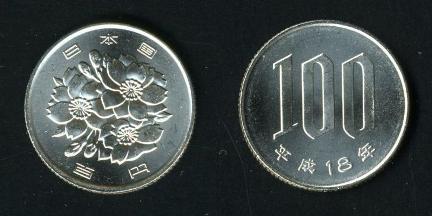 Đồng 500 yên: Đây là đồng xu có mệnh giá, kích thước cũng như trọng lượng lớn nhất trong 6 đồng xu Nhật Bản. Nguyên liệu chính để làm đồng xu này là Niken - Tiền giấy gồm các tờ 1000 yên, tờ 2000 yên, tờ 5000 yên và tờ 10.000 yên. Đồng Yên được phát hành bởi Ngân hàng Nhật Bản, tương tự như đồng Việt Nam trên mỗi tờ tiền yên có in hình các vĩ nhân của đất nước mặt trời mọc, tùy theo mức độ cống hiến của các vĩ nhân mà mỗi đồng tiền mệnh giá khác nhau sẽ là chân dung của những vĩ nhân khác nhau.