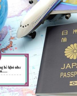 Hướng dẫn chi tiết thủ tục hồ sơ xin visa đi Nhật