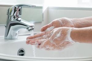 rửa tay đúng cách