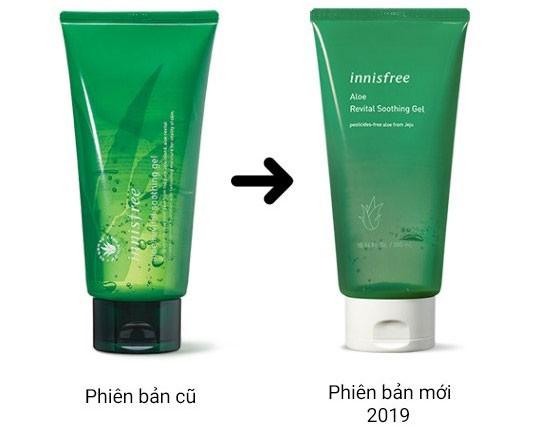 Gel dưỡng da bằng nha đam từ nhà Innisfree đình đám. sản phẩm dưỡng da bằng nha đam